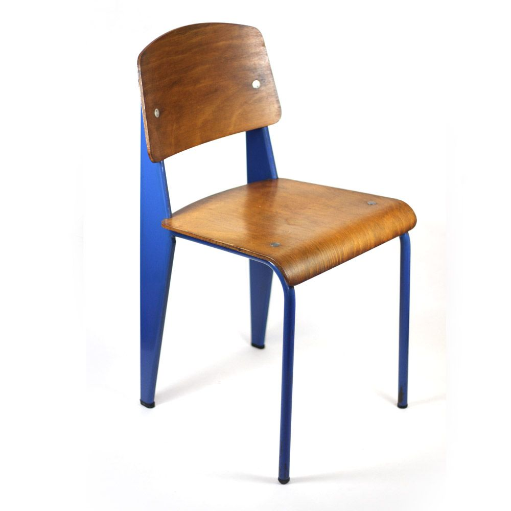 Jean Prouv 233 Standard Chair Vintage Forma